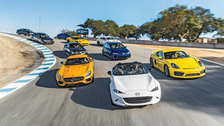 Motor Trend Selects 2015 Best Driver's Car – Surprise!