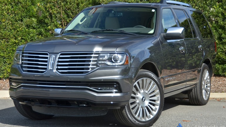 2015 Lincoln Navigator Quick Spin