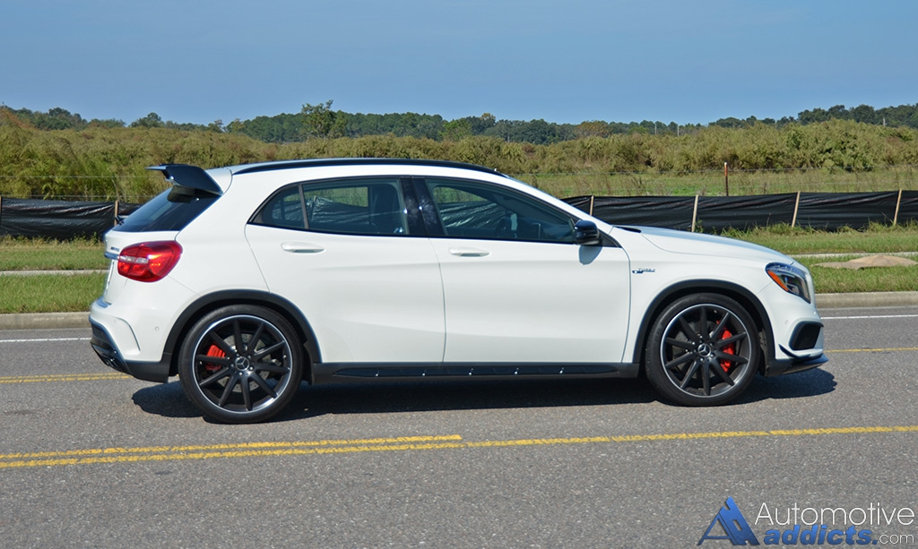 2015 mercedes-benz gla45 amg review & test drive