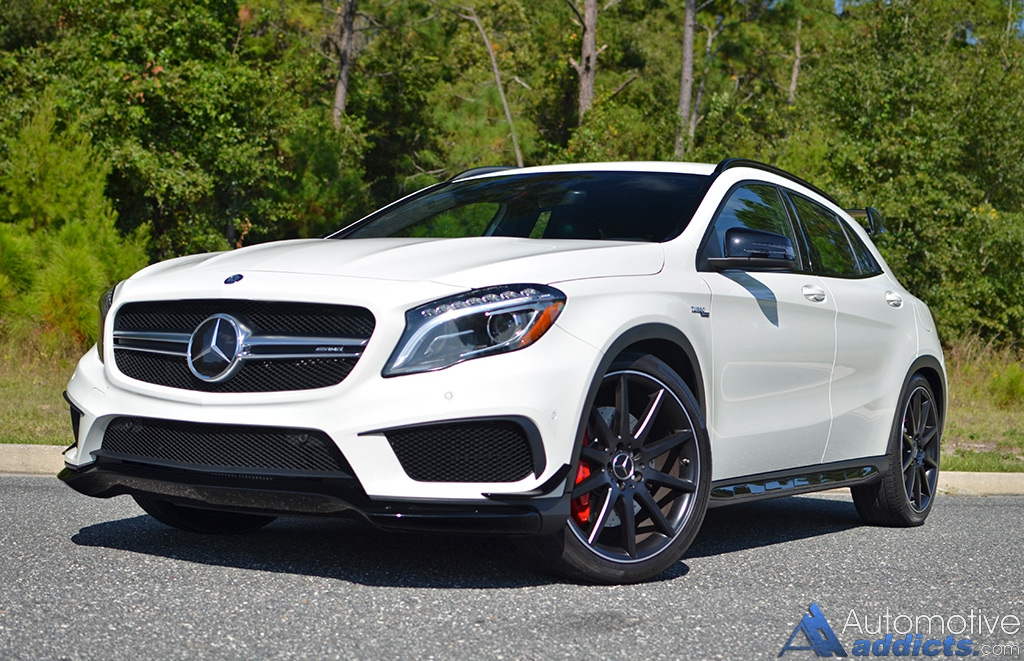 2015 mercedes benz gla45 amg review test drive for Amg com mercedes benz