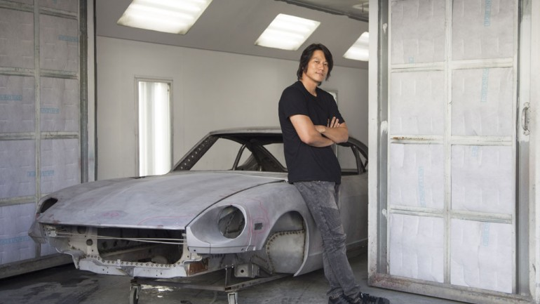 Last 4 Episodes of 'Z Dream' Sparks Intimate Affair with Sung Kang and His 240Z Build