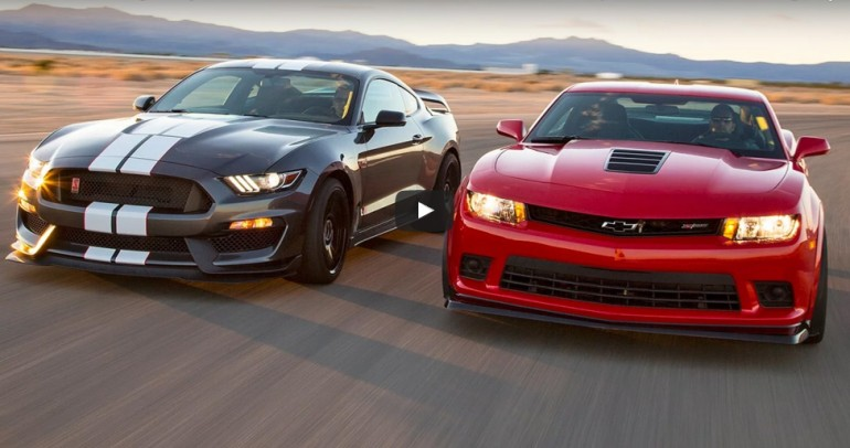 chevy-camaro-z28-vs-ford-mustang-shelby-gt350r