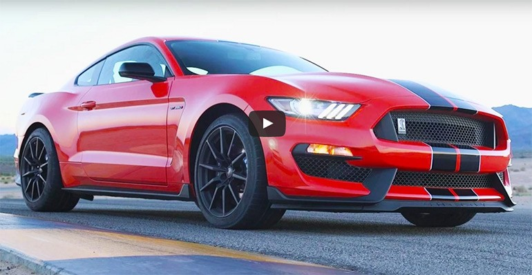 Motor Trend Review and Hot Lap Video of 2016 Ford Mustang Shelby GT350