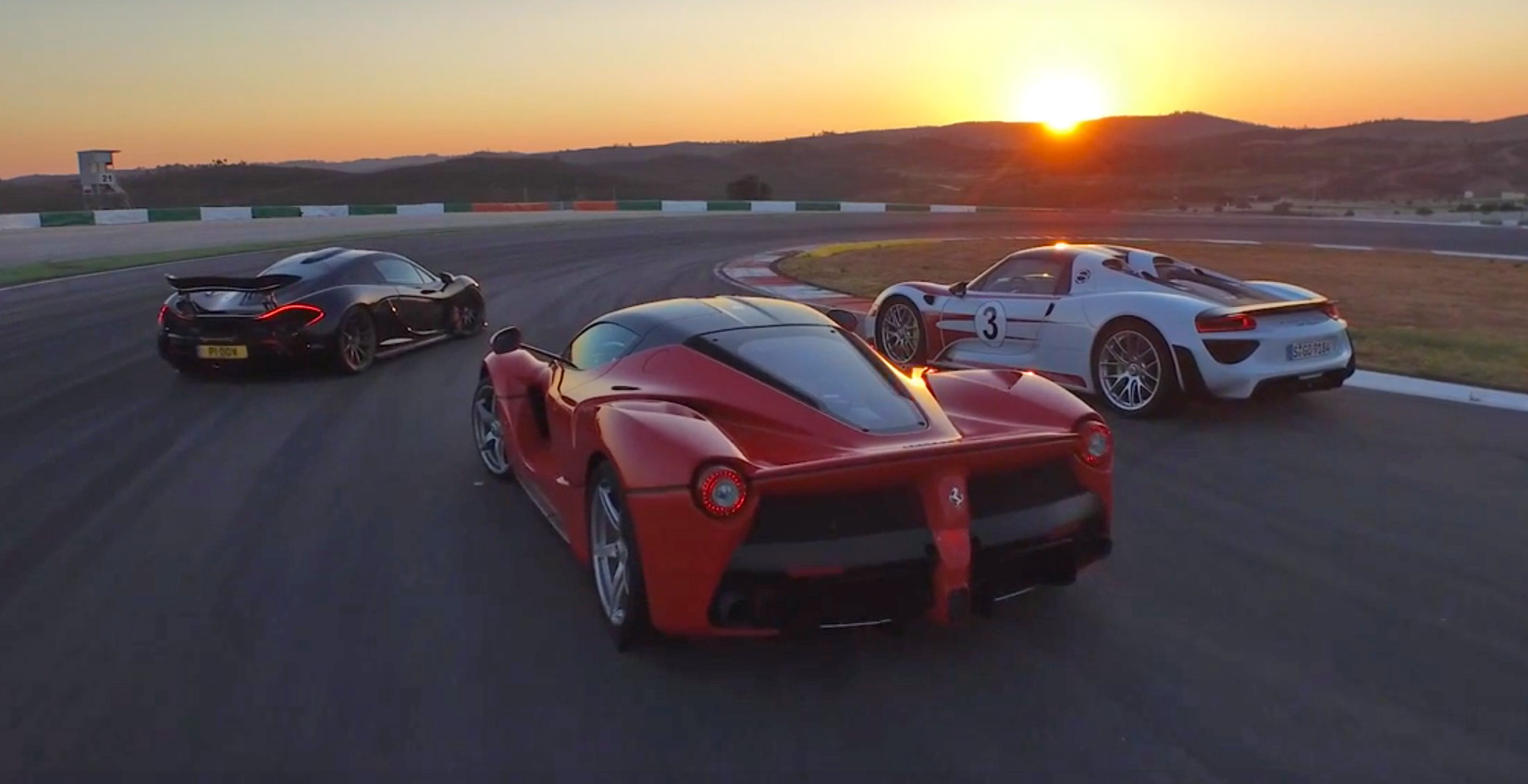 Chris Harris On Cars With The Holy Trinity Laferrari Vs