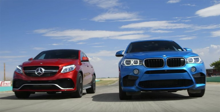Head2head video 2016 mercedes amg gle63 s vs 2016 bmw x6m for Mercedes benz x6 for sale