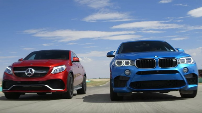 Head2Head Video: 2016 Mercedes-AMG GLE63 S vs. 2016 BMW X6M