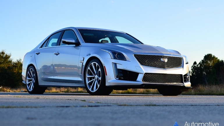 2016 Cadillac CTS-V Review & Test Drive