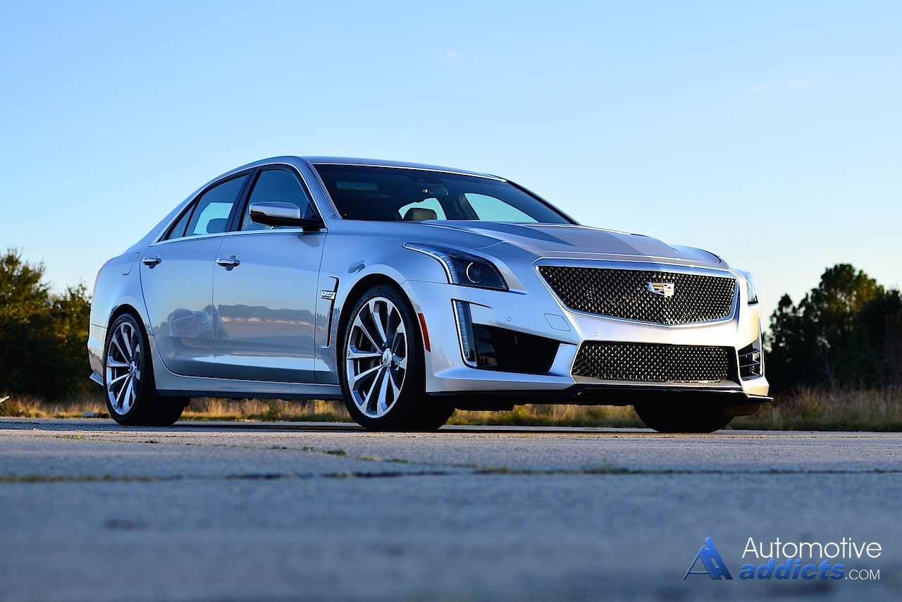 Unique 2016 Cadillac CTSV Review Amp Test Drive
