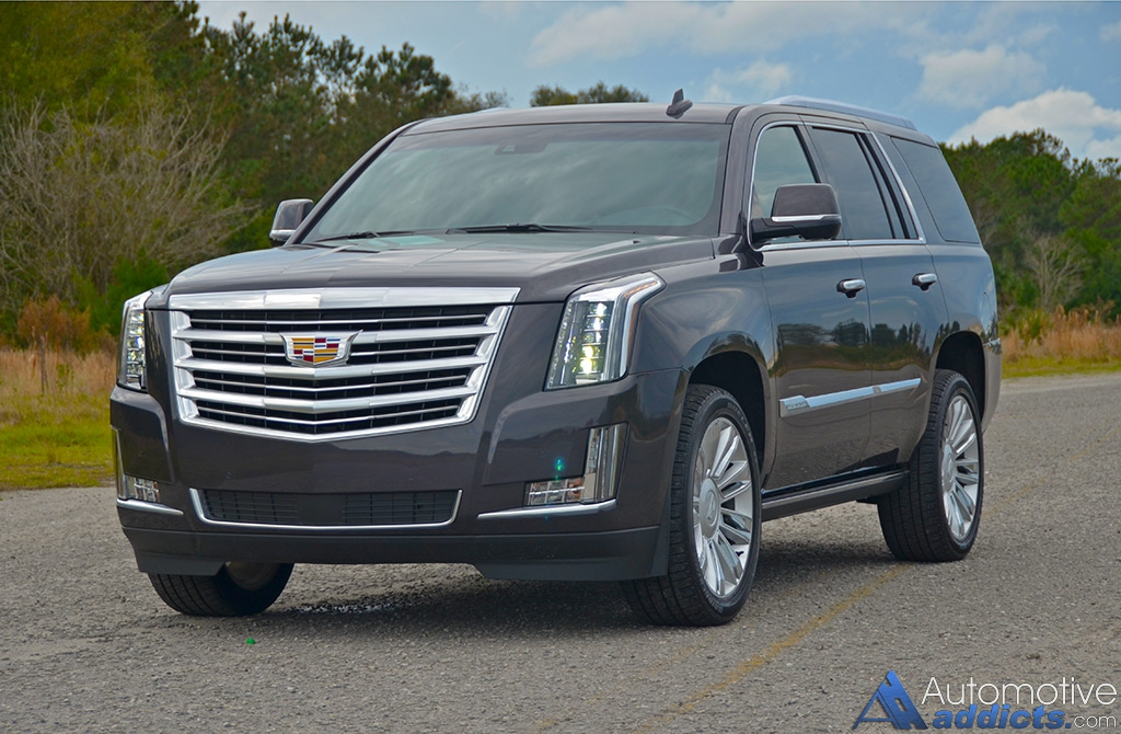 2016 cadillac escalade 4wd platinum living large in. Black Bedroom Furniture Sets. Home Design Ideas