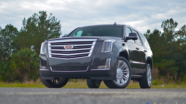 2016 Cadillac Escalade 4WD Platinum – Living Large in America has never been so Good