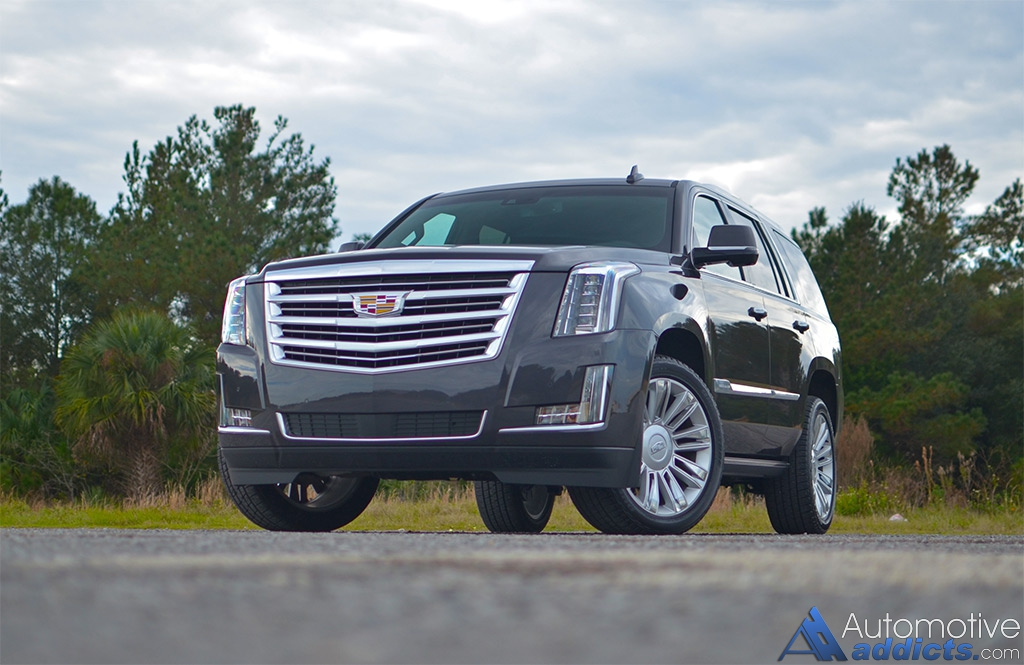2016 cadillac escalade 4wd platinum living large in america has never been so good. Black Bedroom Furniture Sets. Home Design Ideas