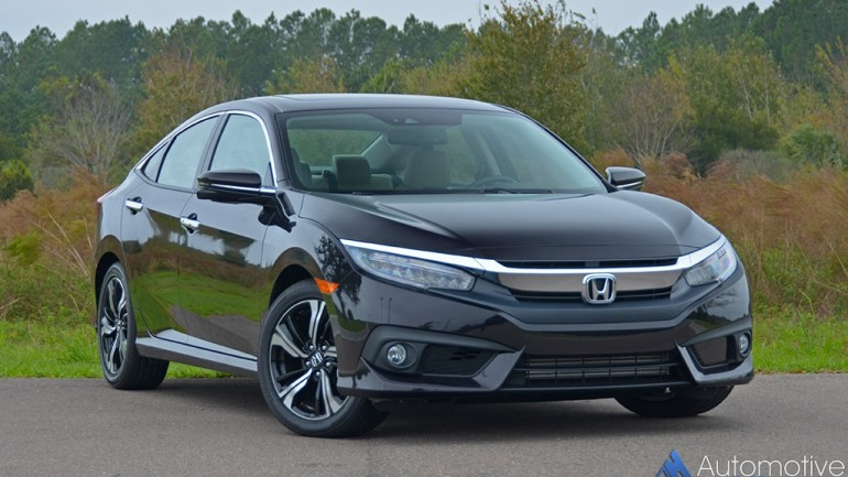 2016 Honda Civic Sedan Touring Review & Test Drive
