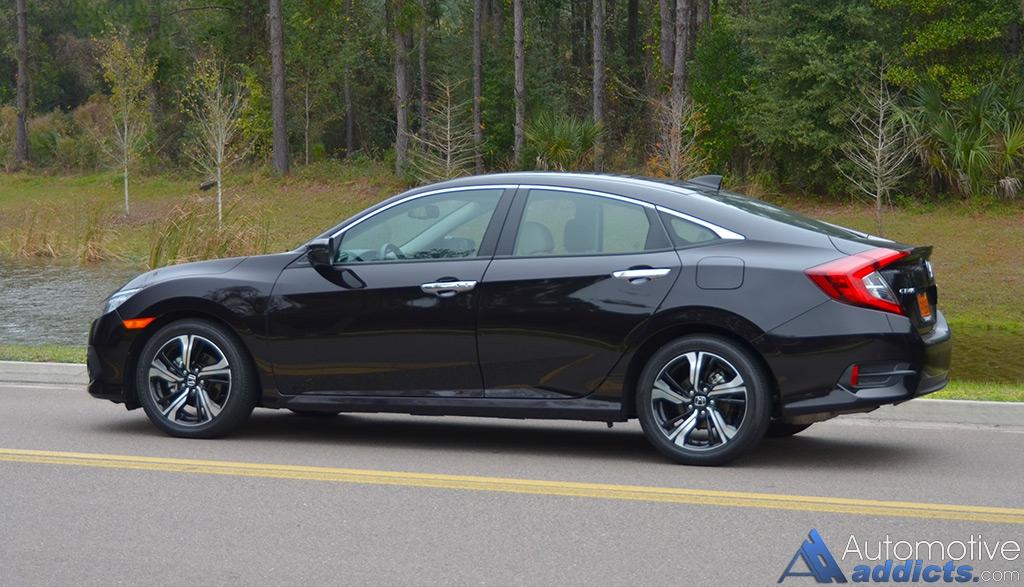 2016 honda civic sedan touring review test drive. Black Bedroom Furniture Sets. Home Design Ideas