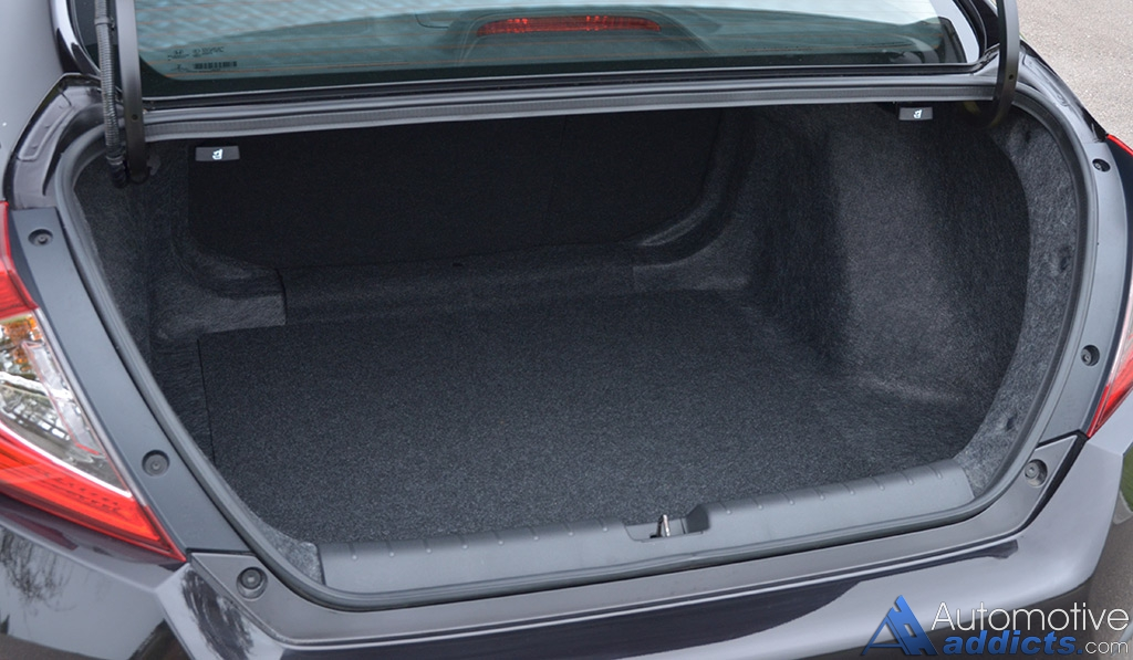honda civic sedan touring review test drive