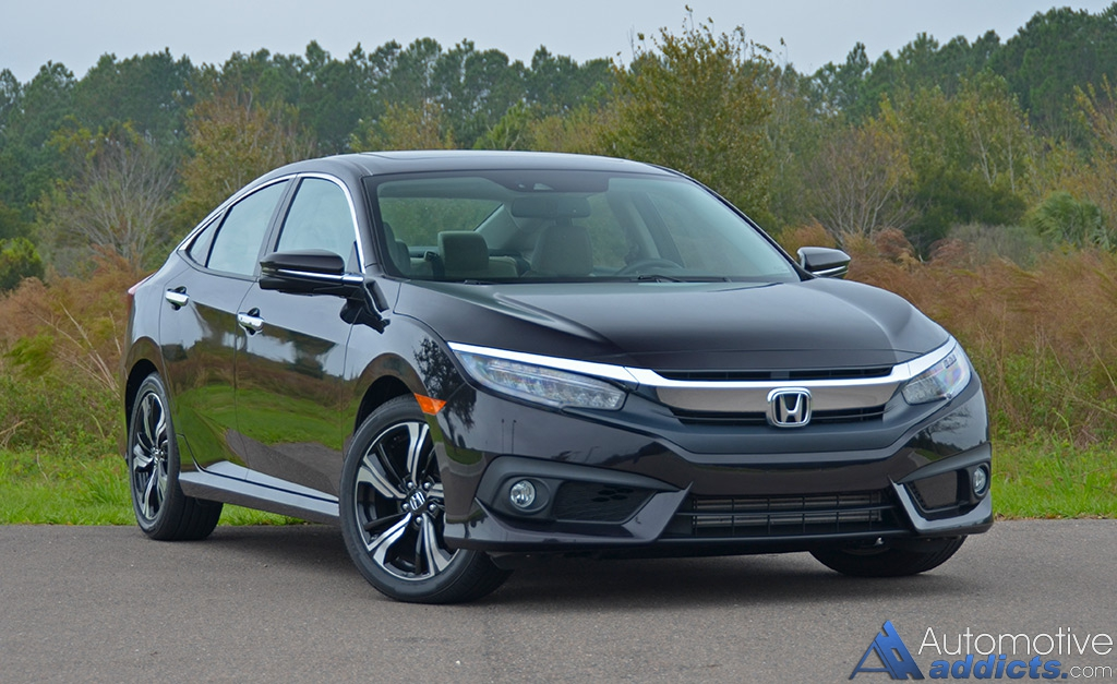 2016 honda civic sedan touring review test drive