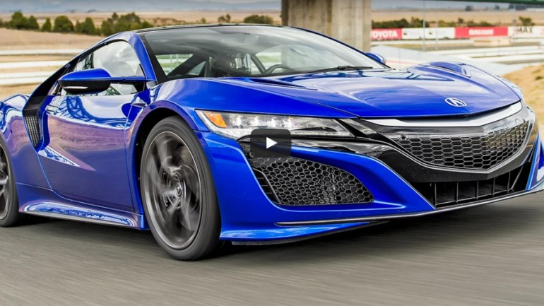 Motor Trend Claims 2017 Acura NSX is Slowest Supercar in the World, Sort of: Video