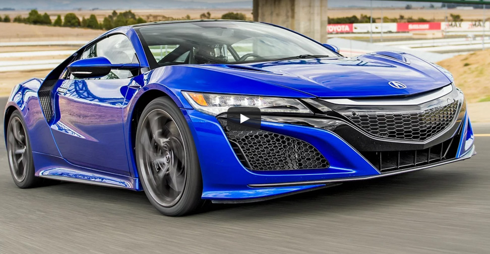 The Slowest Car In The World: Motor Trend Claims 2017 Acura NSX Is Slowest Supercar In