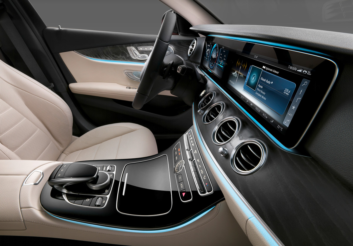 The new 2017 mercedes benz e class interior is stunning video for 2017 mercedes benz e350 price