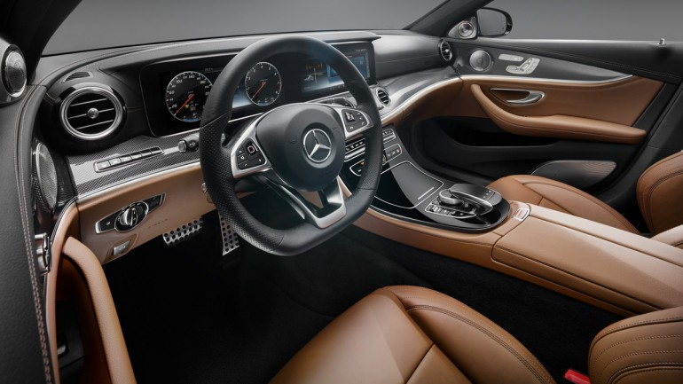 The New 2017 Mercedes-Benz E-Class Interior is Stunning: Video