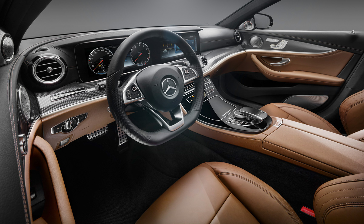 The new 2017 mercedes benz e class interior is stunning for Mercedes benz official site