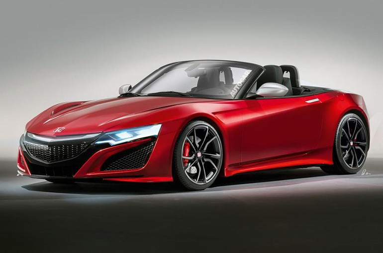 Honda S200 Rendering - Source: AutoCar.co.uk