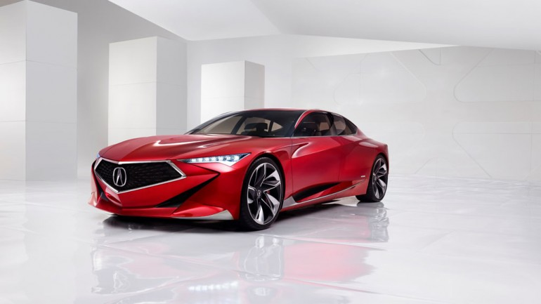 Acura Gets Bold with Precision Concept at 2016 Detroit Auto Show