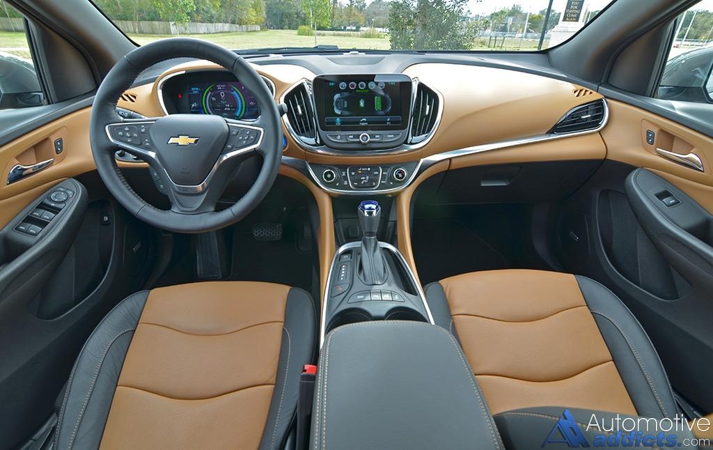 2016 Chevrolet Volt Dashboard