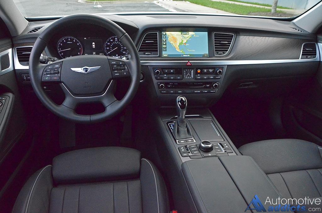 2016 hyundai genesis 3 8 rwd sedan a prince among full - 2016 hyundai genesis sedan interior ...