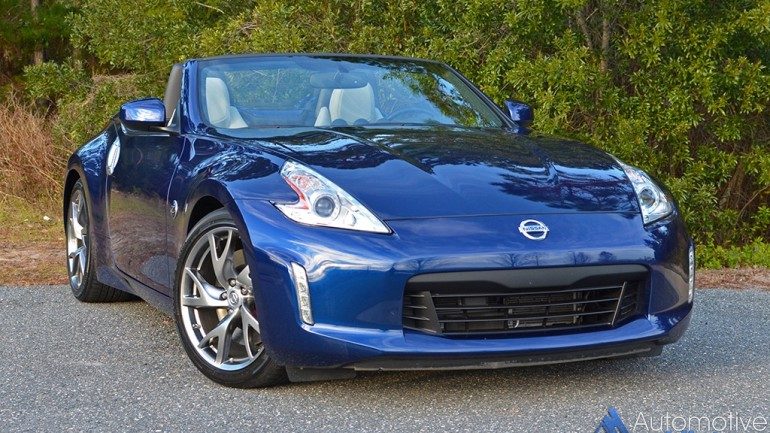 2016 Nissan 370Z Roadster Touring Sport 6-Speed Manual Quick Spin