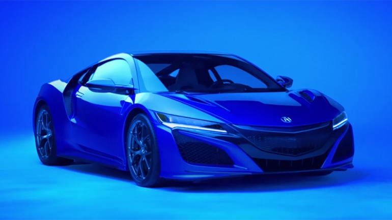 Acura Kicks off NSX production with Super Bowl 50 Commercial Featuring Van Halen Song