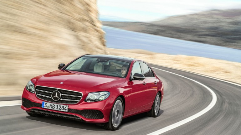 2017 Mercedes-Benz E Class Debuts at 2016 Detroit Auto Show