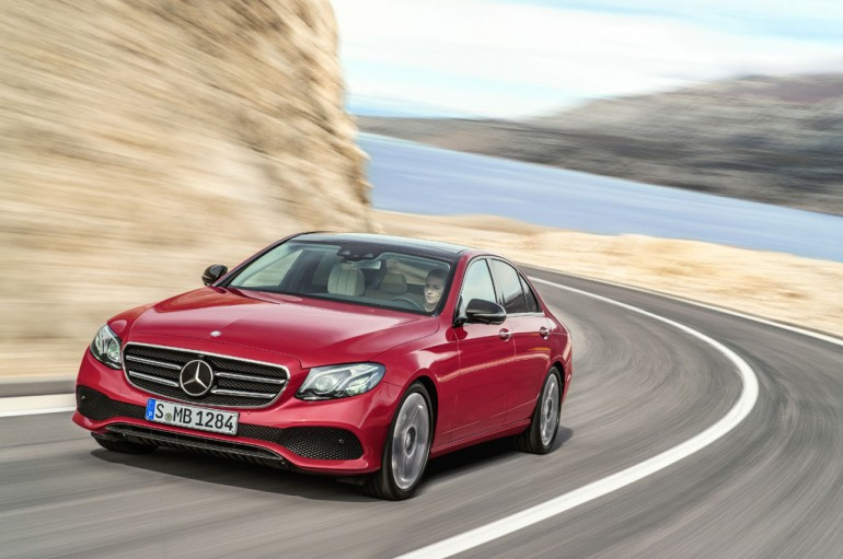 2017 marks the 10th generation of the Mercedes-Benz E-Class luxury sedan. European model shown.