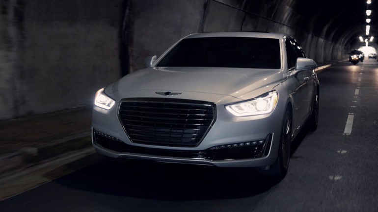 Genesis Luxury Brand Launches Debuting G90 Flagship Sedan at 2016 Detroit Auto Show