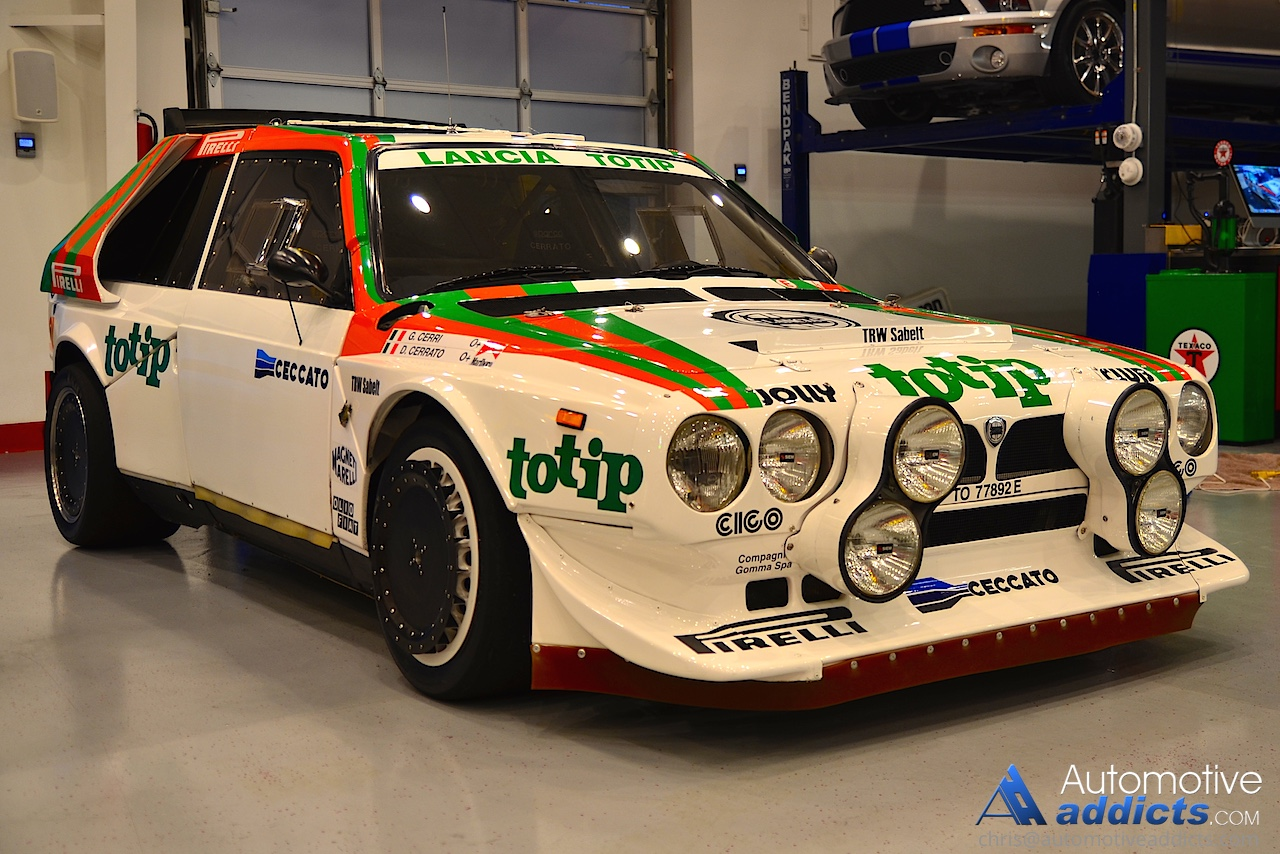 Lancia Delta S4 Group B Rally Car Makes It To The States