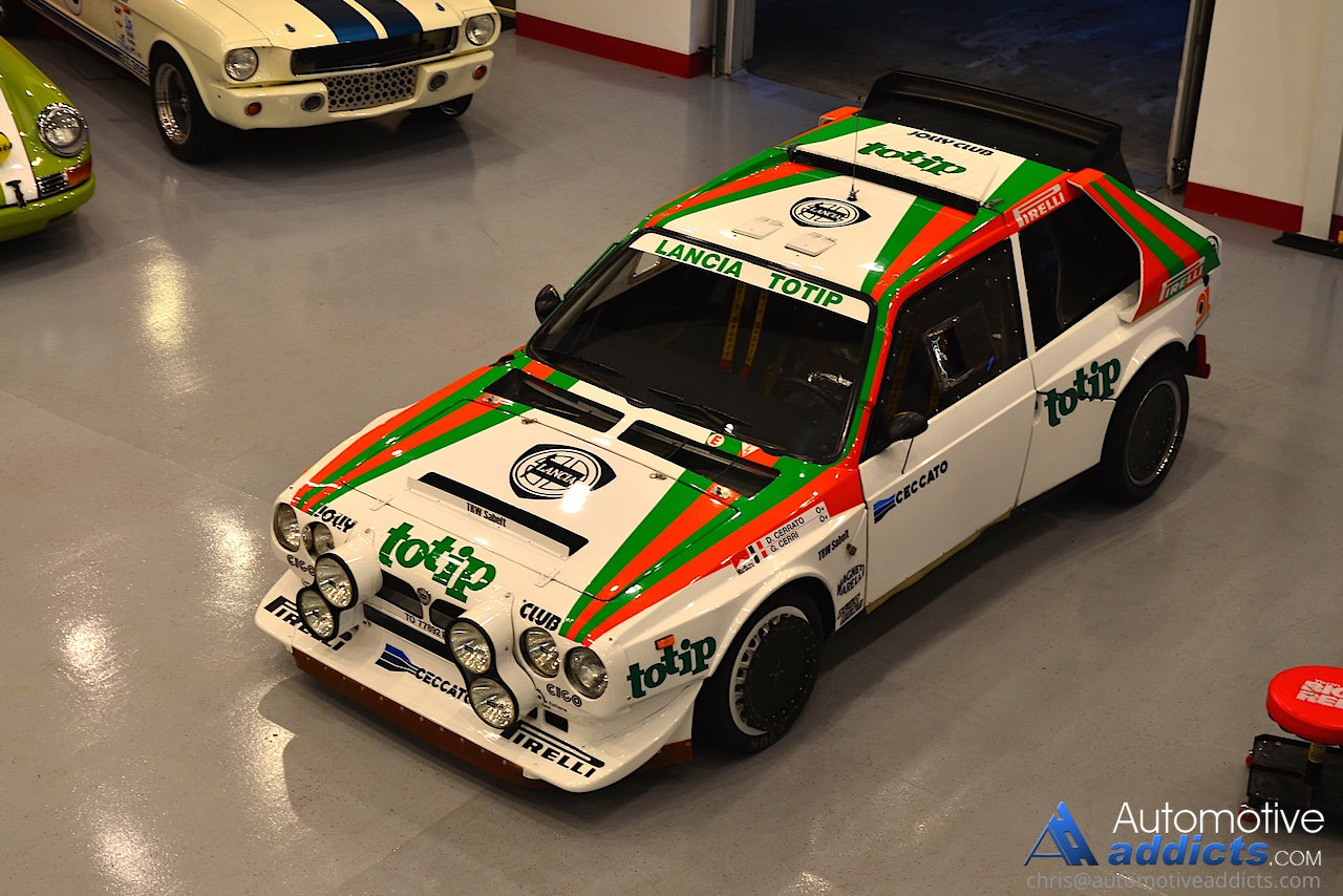Lancia Delta S4 Group B Rally Car Makes it to the States: Video