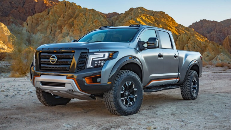 Nissan Titan Warrior Concept Pushes Boundaries at 2016 Detroit Auto Show