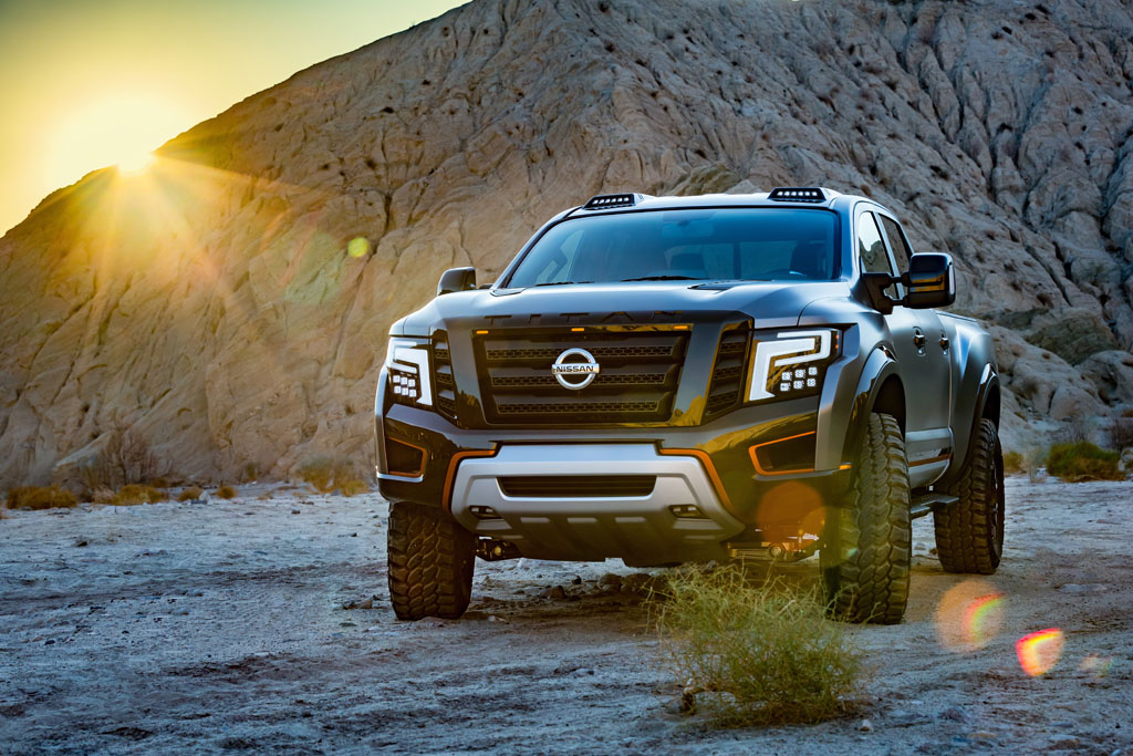 Nissan Titan Warrior Concept Pushes Boundaries At 2016 Detroit Auto Show