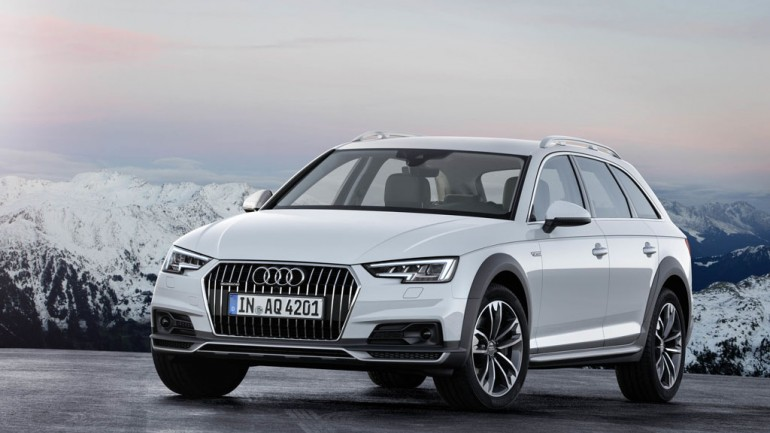 Audi A4 Allroad and H-tron Quattro Concept Peak Out at 2016 Detroit Auto Show