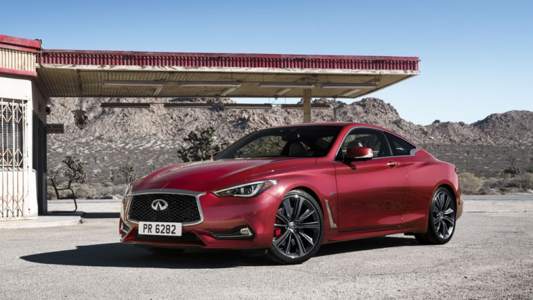Infiniti Q60 Sports Coupe Debuts at 2016 Detroit Auto Show