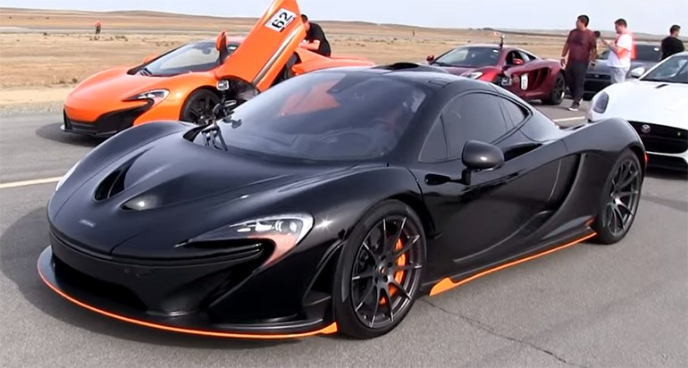 McLaren P1 is Faster than the 650S, Much Faster: Video