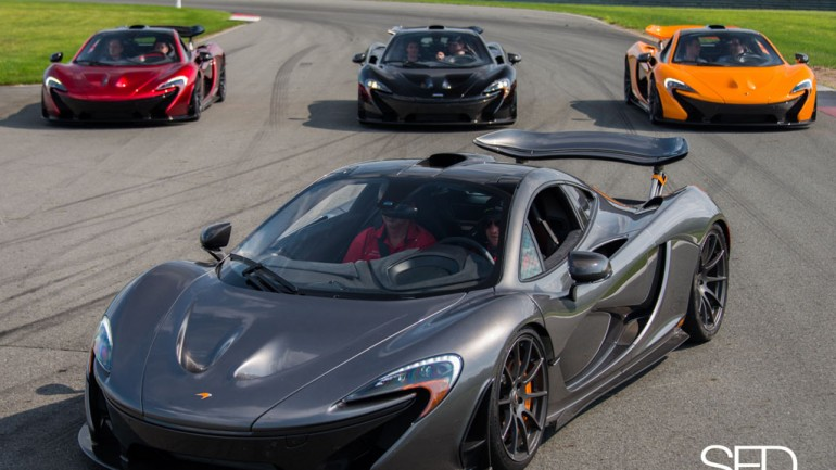 Shoot For Details: 5 McLaren P1'S and 1 Incredible Experience!