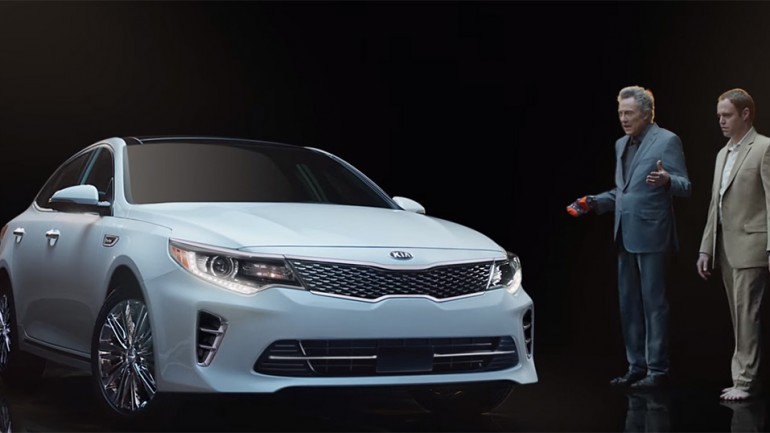 Kia Gets 'Pizzazz' for Big Game with 2016 Optima Super Bowl 50 Ad featuring Christopher Walken: Video