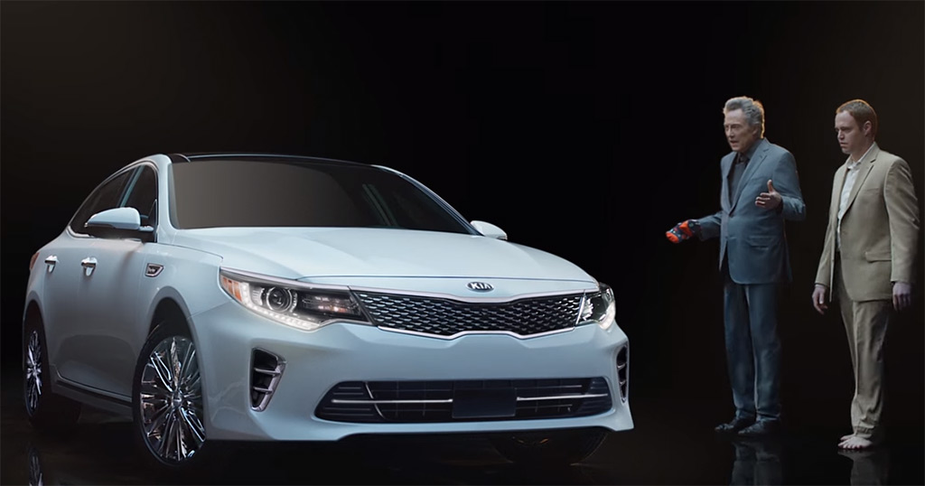 Kia Gets Pizzazz For With 2016 Optima Super Bowl 50 Ad Featuring Christopher Walken Video