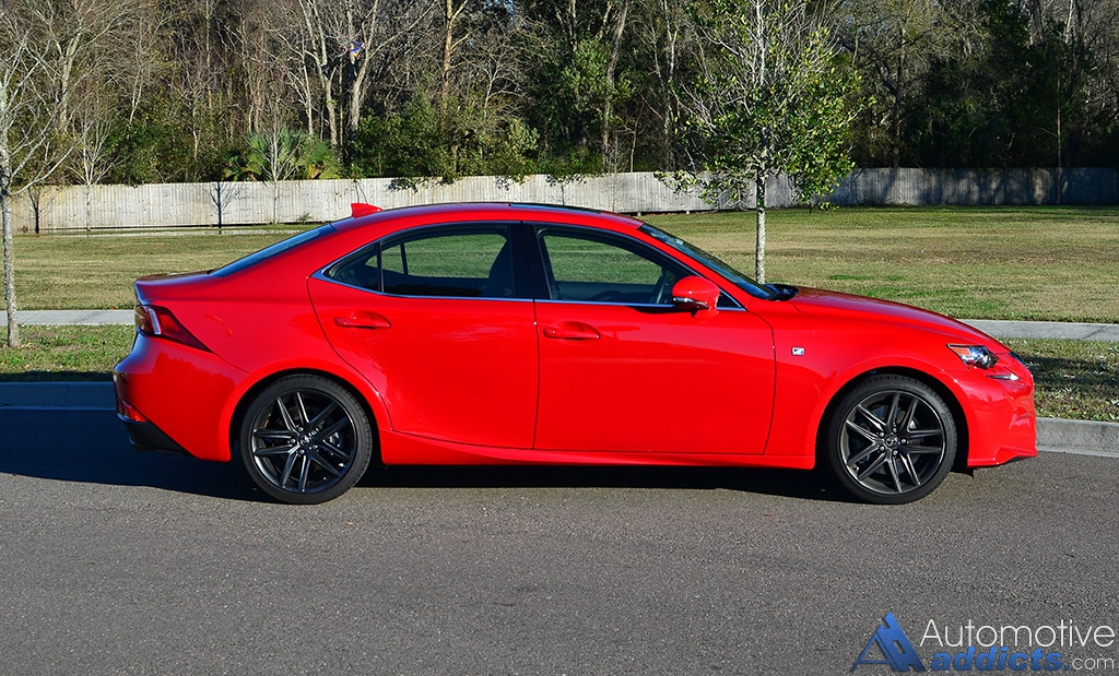 2016 lexus is 200t f sport the lexus is gets its base boosted. Black Bedroom Furniture Sets. Home Design Ideas