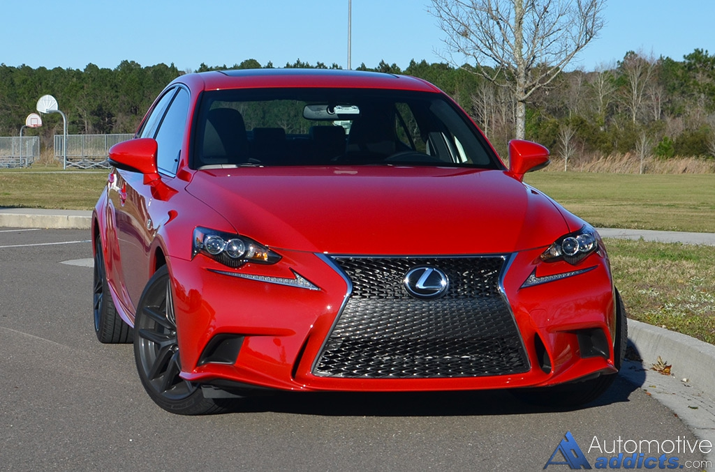 The Lexus IS Gets Its Base