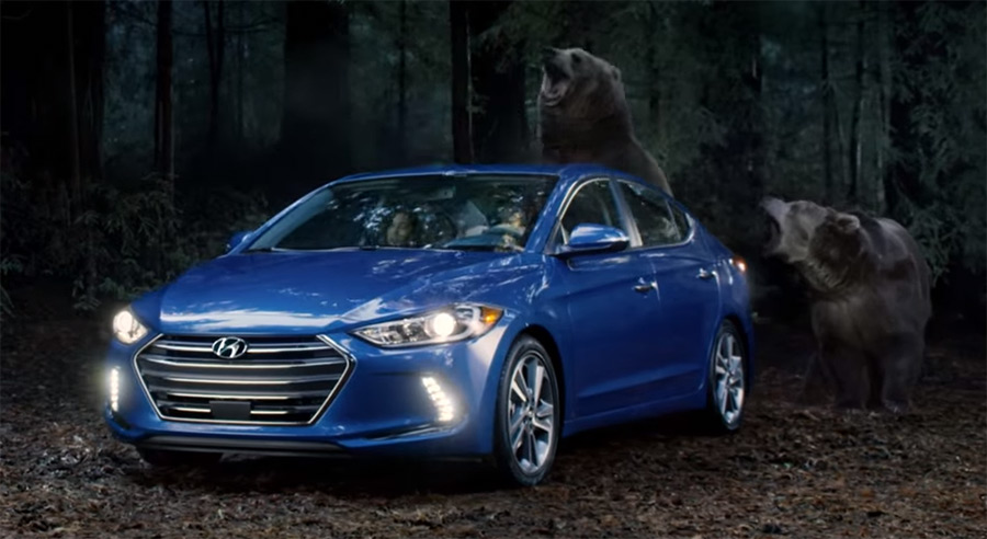 You Talk It Starts Hyundai Gets Into The Action With 2017 Elantra Chase Commercial