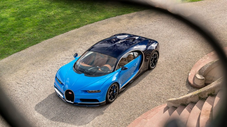 This is the New Bugatti Chiron – First Look at the next World's Fastest Production Car: Video