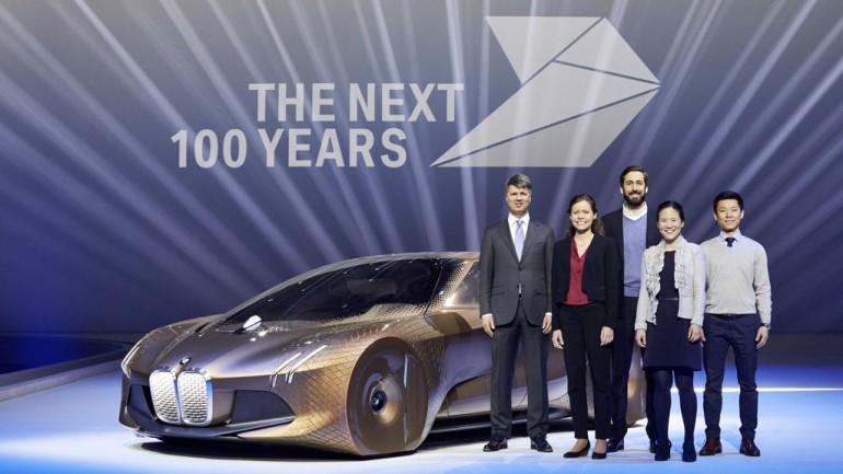 BMW Celebrates 100 Years by Envisioning Next Century of Success