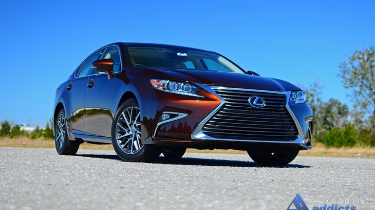 2016 Lexus ES 350 – Soft and Supple Entry-Level Luxury