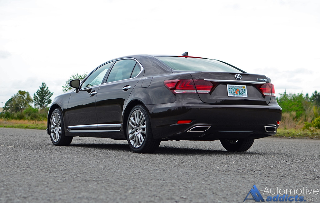 2016 lexus ls 460l review test drive the epitome of quality luxury. Black Bedroom Furniture Sets. Home Design Ideas